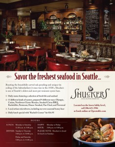 Savor the freshest seafood in Seattle…